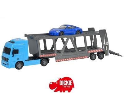 DICKIE CITY Laweta z autem 38 cm 3746006