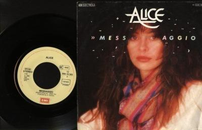 ALICE - MESSAGGIO - LA MANO
