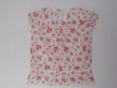 H&M śliczna bluzeczka kwiatuszki NOWA 152