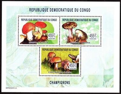 Kongo (Kinshasa). Mi 1764-66 ** - grzyby