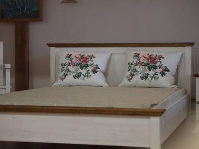 Łóżko AC 140 z drewna,drewniane,PRODUCENT
