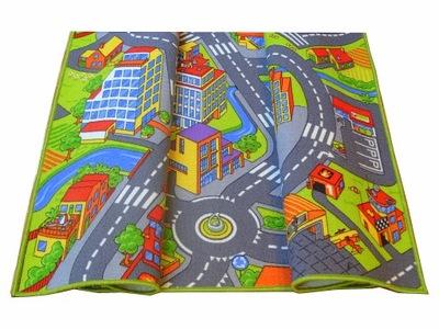 Koberec do detskej izby - KOBERCOVÉ VOZY 2x2 200x200 CITY SMART CITY ul