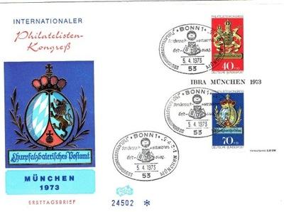 Niemcy RFN - IBRA Kongres - Mi. bl.9 - FDC