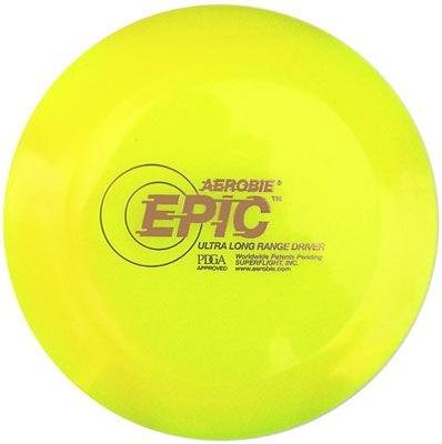 Ľahký Disk Epik hádzanie pre deti žltá