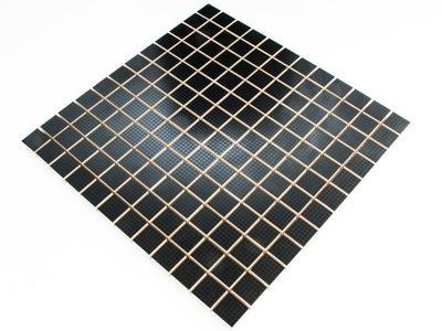 Мозаика Керамическая VAMPA BLACK черная 30х30 NERO