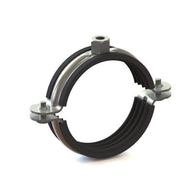 Зажим с кольцом 125 ??  кабель труба Flex канал