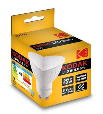 Kodak Лампа LED GU10 5W 50 ВТ 400lm теплый свет