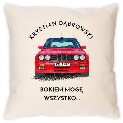ПОДУШКА Z NADRUKIEM BMW M3 E30 ПОДАРОК FANA