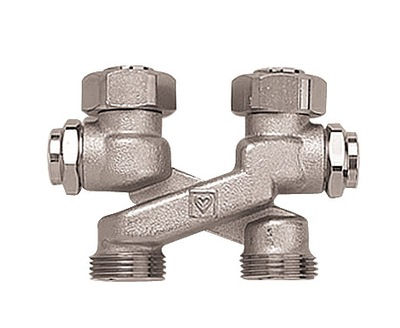 Pripojovací ventil 3/4 's prípojkou HERZ