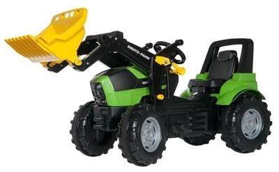 ROLLY TOYS Traktor na pedały DEUTZ-FAHR +łyżka