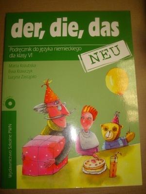 Der,die,das kl.6 podręcznik j.niemiecki  wyd PWN
