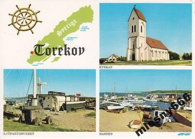 Швеция - TOREKOV - КАРТА