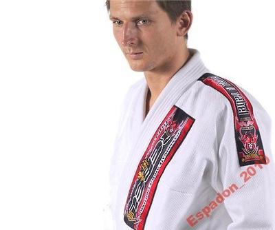 Gi biele zlato, Ju-Jitsu, judoga, kimono, v SKUTOČNOSTI, matný. A4