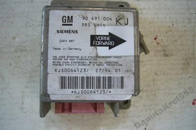 6804/11 SENSOR PODUSZEK 90491004 KJ OPEL