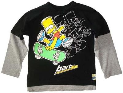 NEXT bluzka bluzeczka SIMPSON 6 L 116