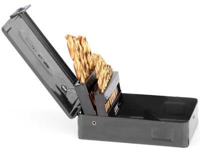 Vrtákov na kov sadu 19 kusov 1-10 mm HSS TITAN