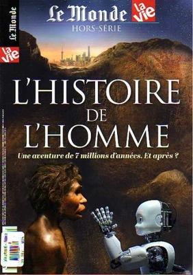 LE MONDE HS-L'HISTOIRE DE L'HOMME  FRANCJA