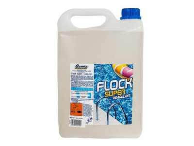 FLOCK SUPER Koagulant Flok Chemia Basenowa 4LGAMIX