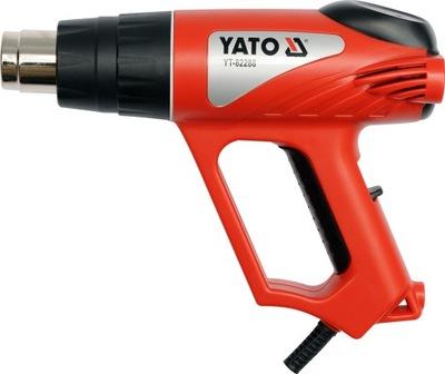 Пистолет горячего воздуха электрическая ГОРЕЛКА, 2000W 550ST Yato