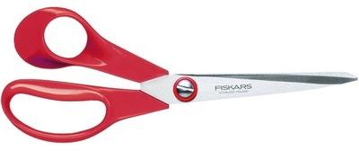Nożyczki FISKARS uniwersalne LEWORĘCZNE - 21cm