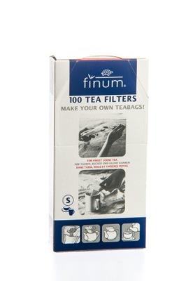 Фильтры бумажные пакеты FINUM размер S (МАЛЫЙ) 100шт.