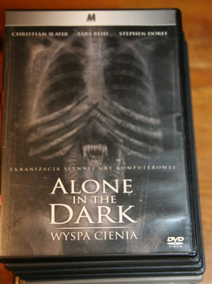 ALONE IN THE DARK  WYSPA CIENIA         DVD