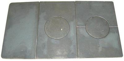 Kachle liatinové platne JAROSLAVĽ - 6 vzoriek