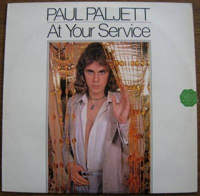 PŁYTA WINYLOWA PAUL PALJETT - AT YOUR SERVICE