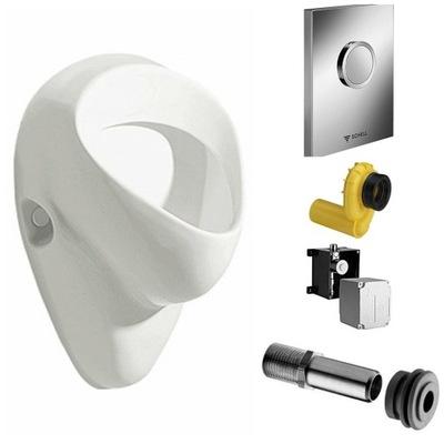 KOLO záchod zostup pre latentný inštaláciu na stenu montáž na stenu CHROME