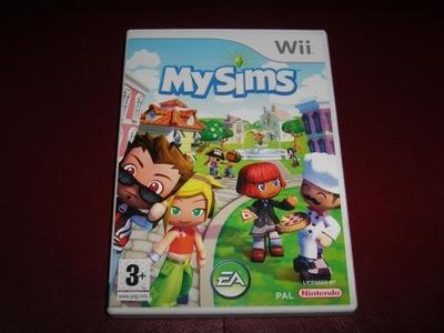 GRA Wii  -  MY SIMS