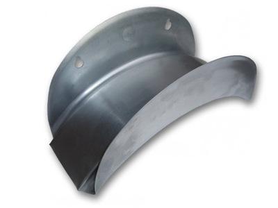 Держатель вешалка настенный для змея металлический оцинкованная