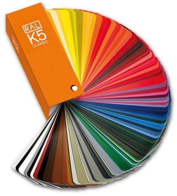 RAL K5 paletu farieb - 213 farba - LESKLÁ
