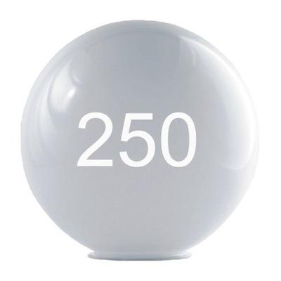 АБАЖУР для САДОВЫХ СВЕТИЛЬНИКОВ шар молочное 250 rudapol