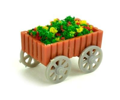 Klomb kwietny коляска на макет dioramę 1 :75/H0