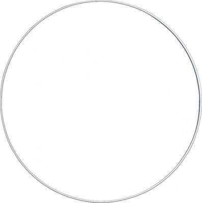 Obręcz metalowa Biała 25 cm Szydełko Kordonek
