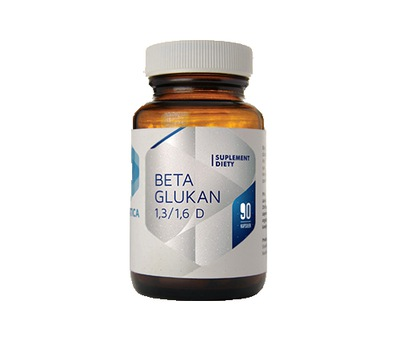 HEPATICA BETA GLUKAN 1.3/1.6D 90 KAPS ODPORNOŚĆ
