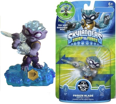 SKYLANDERS SWAP FORCE FREEZE BLADE MAGNETIC BOX
