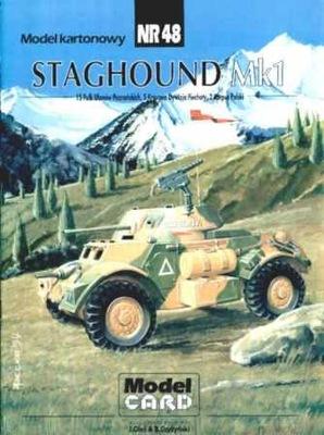 Model Card № 48 Staghound Mk.И