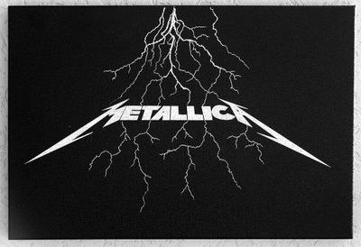 вручную гравировка логотип Metallica подарок