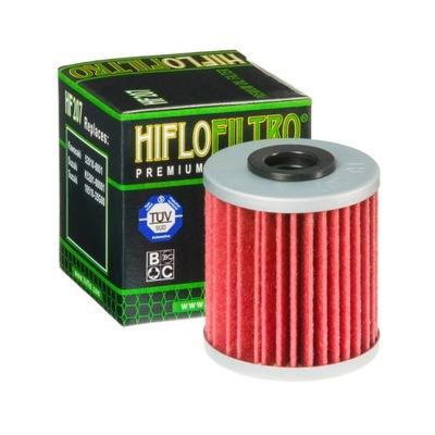 HIFLO Filtr oleju HF207 KAWASAKI;SUZUKI;BETAMOTOR