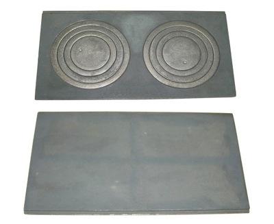 Kachle liatinové platne 63 x 31,5 diera, plná