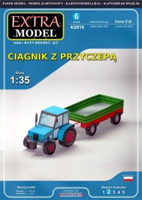 Модель для dzieci_Ciągnik с przyczepą_Extra Модель