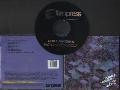 LECH JANERKA - HISTORIA PODWODNA - CD
