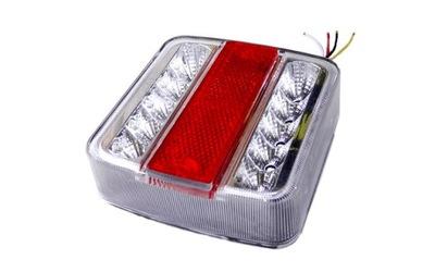 Lampy Zestaw Lamp Led Oświetlenie Przyczepy Magnes