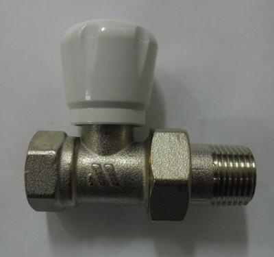 """Radiátorový ventil rovný 1/2 """"WATTS radiátor"""