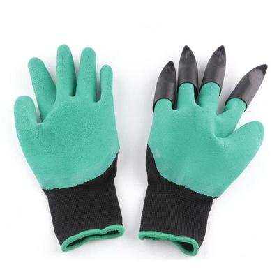 ZZ63 перчатки садовое защитные ГРАБЕЛЬКИ КОГТИ PAZU