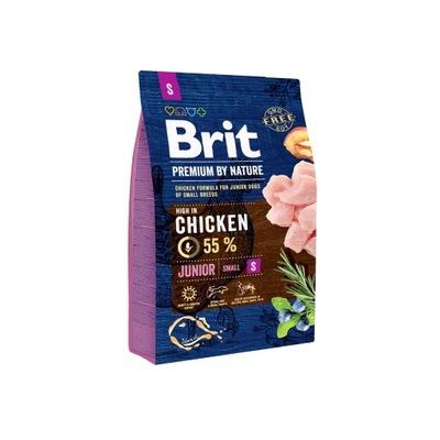 Brit премиум BY NATURE JUNIOR S 3 кг