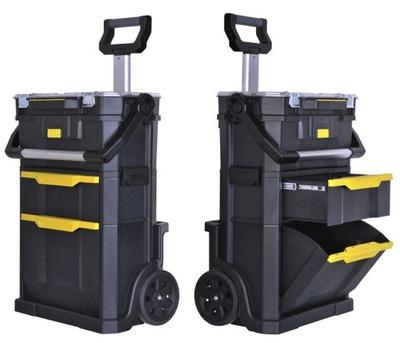 Box na náradie - WORKSHOP STANLEY MODUŁOWY 2 v 1 BAG ORGA 79231