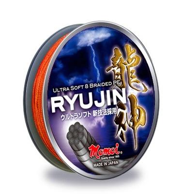 Plecionka MOMOI Ryujin 0,20mm/300m pomarańcz fluo