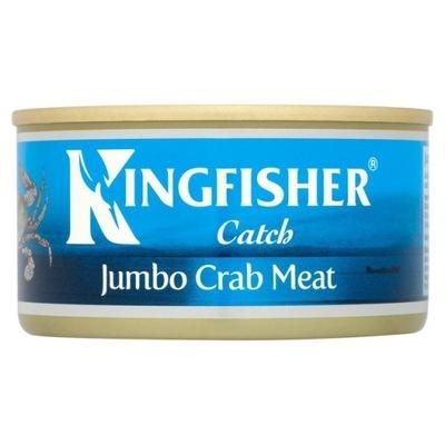 Kingfisher Jumbo Мясо Краба - 170г - UK